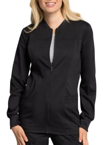 Antimicrobial Zip Front Jacket