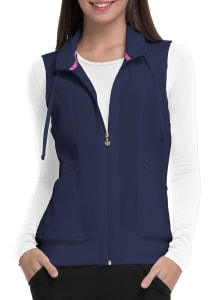 HeartSoul Break Free Full Zip Scrub Vests