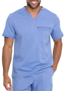 Dickies Balance Men's 1 Pocket V-Neck Scrub Top