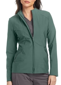 Grey's Anatomy Edge Luna 2-Pocket Angled Seam Scrub Jacket