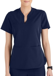 Grey's Anatomy Signature Skyler Split Neck Tunic Scrub Top