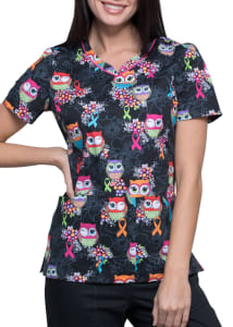 Let's Give A Hoot Print Top
