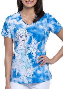 Elsa V-Neck Print Top