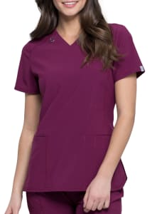 Infinity By Cherokee 2 Pocket V-Neck Scrub Top