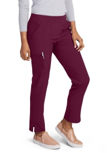 HeartSoul Love Always Sunshine Bungee Hem Cargo Scrub Pant