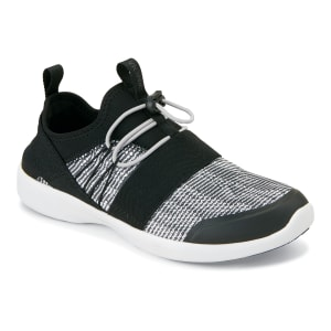 Alaina Black/White Athletic Shoes
