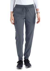 Beyond Scrubs Active+ Lila 6 Pocket Jogger Scrub Pants