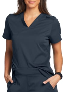 Grey's Anatomy Spandex Stretch Bree V-Neck Tuck-In Scrub Top