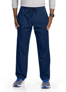 Motion by Barco Men's Jake 4 Pocket Drawstring Waist Scrub Pants