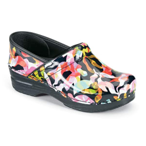 Color Fusion Patent Nursing Clogs