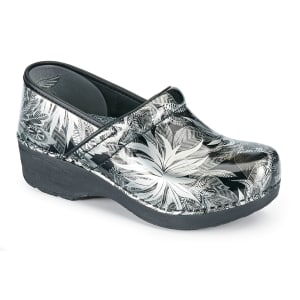 Jungle Metallic  Patent Nursing Clogs