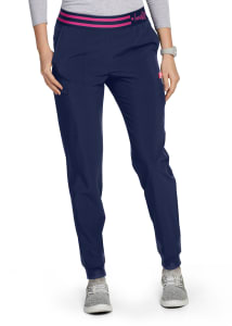 HeartSoul Love Always Cargo Jogger Scrub Pants