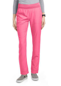 HeartSoul Charm Tapered Leg Drawstring Scrub Pants