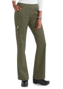 Cherokee Workwear Revolution Knit Waist Cargo Scrub Pants