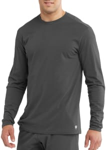 Skechers Men's True Crew Neck Long Sleeve Scrub Tee