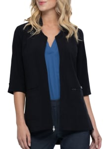 Zip Front Antimicrobial Lab Coat