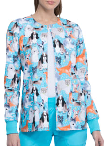 Doggo Lingo Print Jacket