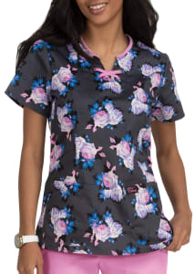 Betsey's Scented Rose Print Top