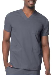 Urbane Men's 3 Pocket V-Neck Scrub Top