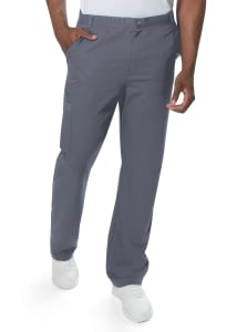 Urbane Men's Cargo Pocket Scrub Pant With Drawstring Waist