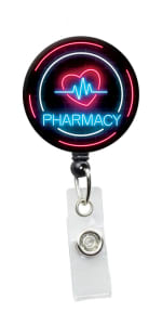 Initial This Health Retractable Badge Holders