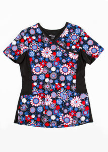 Crazy For Daisies Print Top