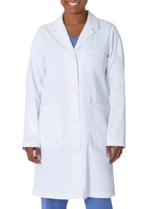 The Minimalist Faye 37.5 Inch 5 Pocket Lab Coat