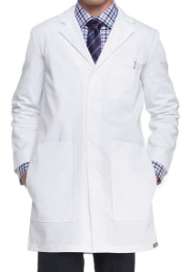 37 Inch 6 Pocket Lab Coat