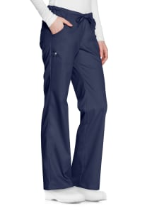 Cherokee Luxe Low Rise Drawstring Scrub Pants