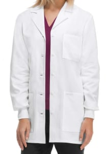 Cherokee 32 Inch Knit Cuff Lab Coat