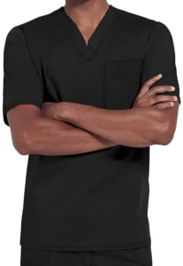 1 Pocket V-Neck Top