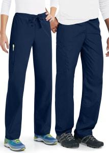 Cherokee Workwear Unisex Drawstring Cargo Scrub Pants