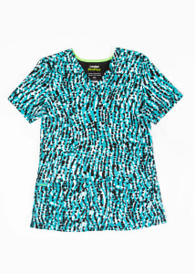 Sway With Me Teal Print Top