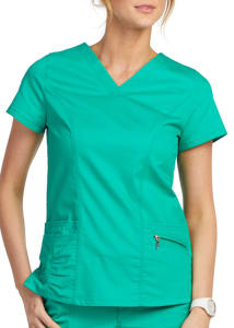 Beyond Scrubs Ellie 4 Pocket V-Neck Scrub Top