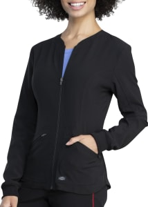 2-Pocket Zip Front Jacket