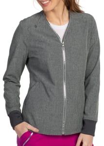 Koi Basics Alanna 2 Pocket Zipper Neckline Jacket