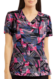 Digital Dreams V-Neck Print Top