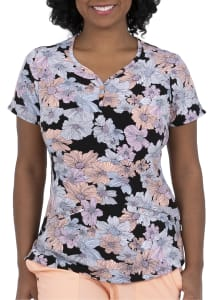 Isabel Field of Flowers Print Top