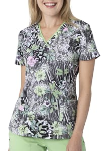 Amanda Lovely Wilderness Print Top