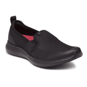 Julianna Black Slip On Athletic Shoes