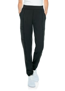 Double Cargo Sheer Stripe Jogger Pants