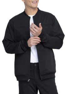 Dickies Balance Men's Bomber Style Scrub Jacket