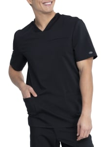 Dickies Balance Men's 3 Pocket V-Neck Scrub Top