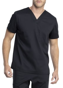 Antimicrobial Unisex V-Neck Top