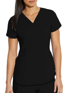 Nova 4 Pocket Crossover V-Neck Top