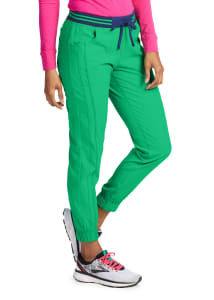 HeartSoul Limited Edition Contrast Piping Jogger Scrub Pants