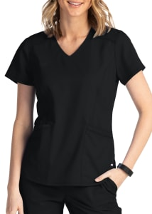 3 Pocket V-Neck Top