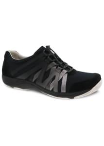 Henriette Black Suede Athletic Shoes