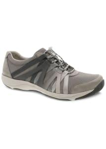 Henriette Grey Suede Athletic Shoes