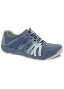 Henriette Denim Suede Athletic Shoes